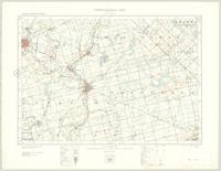Galt, ON. 1:63,360. Map sheet 040P08, [ed. 2], 1923