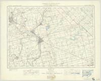 Galt, ON. 1:63,360. Map sheet 040P08, [ed. 4], 1936