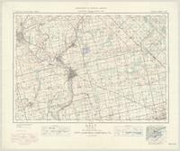 Galt, ON. 1:63,360. Map sheet 040P08, [ed. 5], 1938