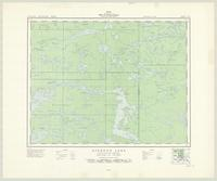 Ryerson Lake, ON. 1:63,360. Map sheet 052L06, [ed. 1], 1950