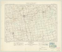 Durham, ON. 1:63,360. Map sheet 041A02, [ed. 1], 1945