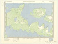 Silver Water, ON. 1:63,360. Map sheet 041G15, [ed. 1], 1951