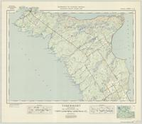 Tobermory, ON. 1:63,360. Map sheet 041H03-H04, [ed. 1], 1946