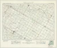 Seaforth, ON. 1:63,360. Map sheet 040P11, [ed. 1], 1937