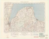 Owen Sound, ON. 1:63,360. Map sheet 041A10, [ed. 1], 1945