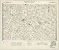 Wingham, ON. 1:63,360. Map sheet 040P14, [ed. 1], 1937