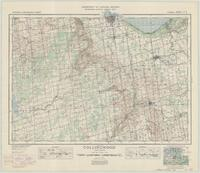 Collingwood, ON. 1:63,360. Map sheet 041A08, [ed. 1], 1941