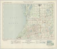 Wiarton, ON. 1:63,360. Map sheet 041A11, [ed. 1], 1945