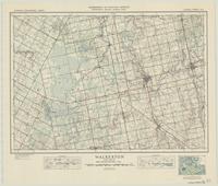 Walkerton, ON. 1:63,360. Map sheet 041A03, [ed. 1], 1946