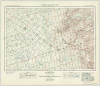 Dundalk, ON. 1:63,360. Map sheet 041A01, [ed. 1], 1941
