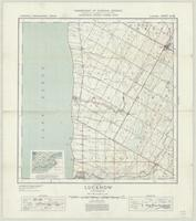 Lucknow, ON. 1:63,360. Map sheet 040P13, [ed. 1], 1937