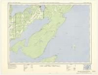 Manitowaning, ON. 1:63,360. Map sheet 041H12, [ed. 1], 1951