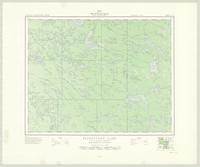Flintstone Lake, ON. 1:63,360. Map sheet 052L11, [ed. 1], 1950