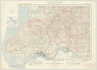 Sault Ste. Marie, ON. 1:63,360. Map sheet 041K09, [ed. 1], 1939