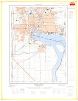 Niagara Falls, ON. 1:25,000. Map sheet 030M03A, [ed. 2], 1963