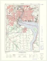 Niagara Falls, ON. 1:25,000. Map sheet 030M03A, [ed. 3], 1973