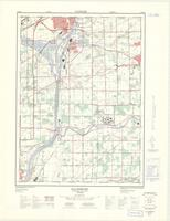 Allanburg, ON. 1:25,000. Map sheet 030M03B, [ed. 3], 1973