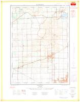 Fonthill, ON. 1:25,000. Map sheet 030M03C, [ed. 1], 1964