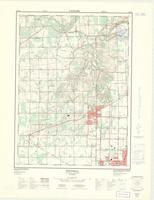 Fonthill, ON. 1:25,000. Map sheet 030M03C, [ed. 2], 1973