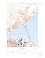 Burlington, ON. 1:25,000. Map sheet 030M05C, [ed. 2], 1963