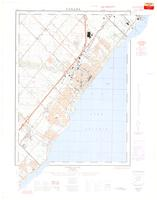 Oakville, ON. 1:25,000. Map sheet 030M05G,B,H, [ed. 1], 1964