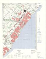 Oakville, ON. 1:25,000. Map sheet 030M05G,B,H, [ed. 2], 1972