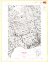 West Toronto, ON. 1:25,000. Map sheet 030M11E, [ed. 1], 1961