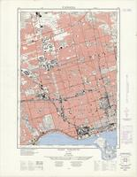 West Toronto, ON. 1:25,000. Map sheet 030M11E, [ed. 2], 1963