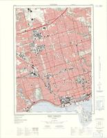 West Toronto, ON. 1:25,000. Map sheet 030M11E, [ed. 3], 1974