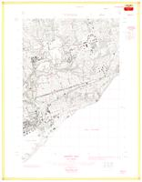 East Toronto, ON. 1:25,000. Map sheet 030M11F, [ed. 1], 1961