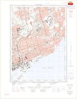 East Toronto, ON. 1:25,000. Map sheet 030M11F,C, [ed. 2], 1963