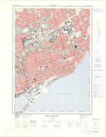 East Toronto, ON. 1:25,000. Map sheet 030M11F,C, [ed. 3], 1975