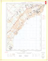 Port Credit, ON. 1:25,000. Map sheet 030M12A &030M11D, [ed. 2], 1962