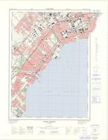 Port Credit, ON. 1:25,000. Map sheet 030M12A &030M11D, [ed. 3], 1974