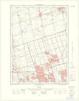 Agincourt, ON. 1:25,000. Map sheet 030M14C, [ed. 2], 1962