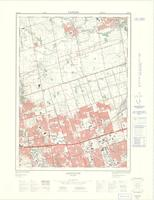 Agincourt, ON. 1:25,000. Map sheet 030M14C, [ed. 3], 1974