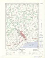 Bowmanville, ON. 1:25,000. Map sheet 030M15G, B, [ed. 1], 1969