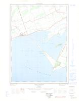 Wellington, ON. 1:25,000. Map sheet 030N14F, [ed. 1], 1963