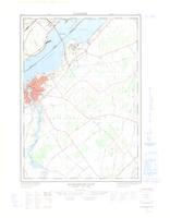 Windmill Point (Ogdensburg East), ON. 1:25,000. Map sheet 031B11E, [ed. 1], 1967