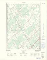 Algonquin, ON. 1:25,000. Map sheet 031B12G, [ed. 1], 1968