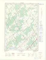 Algonquin, ON. 1:25,000. Map sheet 031B12G, [ed. 2], 1977