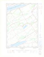Ameliasburg, ON. 1:25,000. Map sheet 031C03D, [ed. 1], 1966