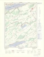 Ameliasburg, ON. 1:25,000. Map sheet 031C03D, [ed. 2], 1976