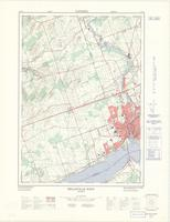 Belleville West, ON. 1:25,000. Map sheet 031C03E, [ed. 1], 1971
