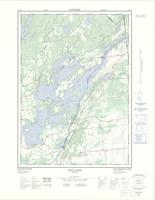 Dog Lake, ON. 1:25,000. Map sheet 031C08F, [ed. 2], 1972