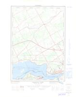 Cornwall West, ON. 1:25,000. Map sheet 031G02C, [ed. 1], 1966