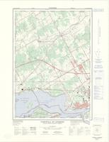 Cornwall - St Andrews, ON. 1:25,000. Map sheet 031G02C & 031B15F, [ed. 2], 1976