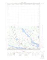 Chalk River, ON. 1:25,000. Map sheet 031K03D, [ed. 1], 1962