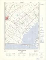 Rondeau Harbour, ON. 1:25,000. Map sheet 040I05D, [ed. 1], 1974