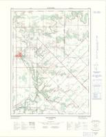 Alvinston, ON. 1:25,000. Map sheet 040I13C, [ed. 1], 1972